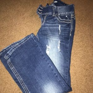 Pants - Size 7 flare jeans